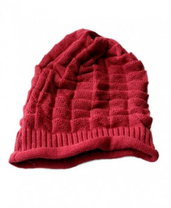 7da5f39d Dealzip Inc Stylish Unisex Brown Woven Knit Crochet Plicated Baggy Slouch  Warm Winter Hat Cap Beret; Dealzip Inc Stylish Crochet Plicated ...