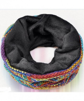 KUYOU Womens Multifunction Cashmere Rainbow in Women's Skullies & Beanies
