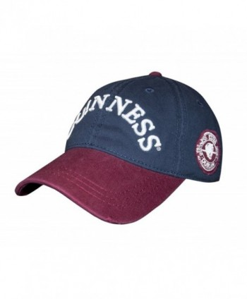 Guinness Navy Distressed Label Baseball Cap - CX12O30SCO6