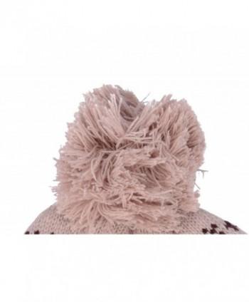EPYA Womens Knitted Beanie Earflap