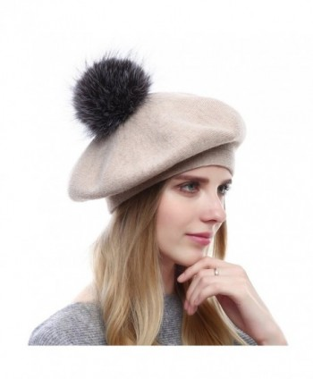 Womens Winter Beanies Knitted Cashmere