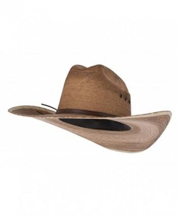 Western Cattleman Straw Cowboy Hat