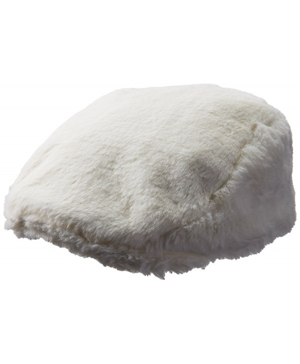 Kangol Men's Faux Fur Cap - Cream - C0184TM3E9Z