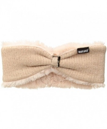 Muk Luks Women's Lurex Headband - Pink - C31867MT3LA