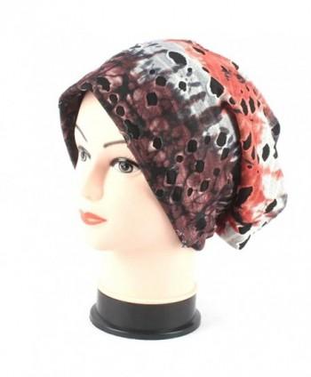 Joymee Women Ladies Cap Hat Holes Fashion Design Turban Beanie Colorful Breathable - 5 - CZ182H6DUDD