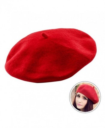 Seacan French Classic Lightweight Cap Red - Red - C2189056HIZ