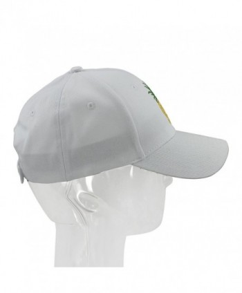 c82ebe521ae08 ... Sun Cap Cotten Snapback Adjustable Outdoor Sports Cap - White   melitop005 Pineapple Baseball Quick Drying Adjustable  melitop005 Pineapple  Baseball ...