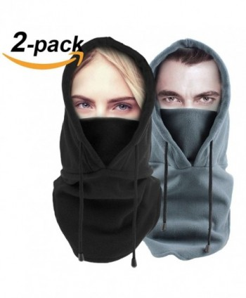 Lovidea Balaclava Windproof Ski Face Mask Fleece Hood Head Warmer For Men and Women - CR189ON8ZKH