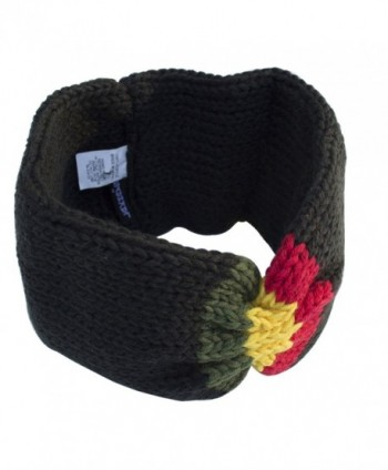 unisex knit Rasta Reggae winter headband-Black-One size - CO11NXE5LFB