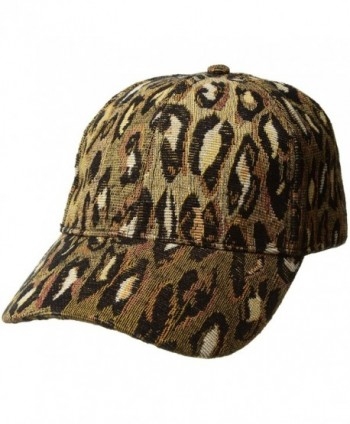 Collection XIIX Women's Woven Animal Baseball - Leopard - CY184H3OROY