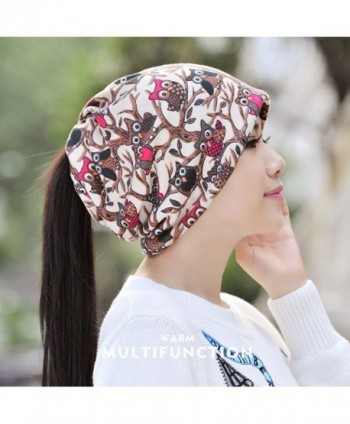 Kuyou Womens Multifunction Skull scarf in Women's Skullies & Beanies