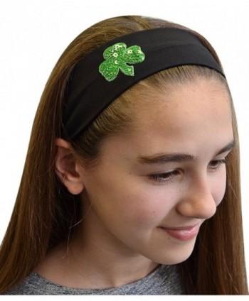 Patricks Shamrock Funny Girl Designs in Women's Headbands in Women's Hats & Caps