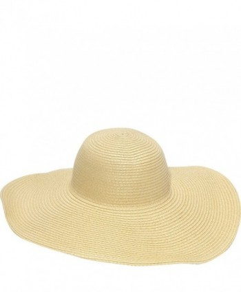 Magid Straw Floppy Sun Hat - Natural - C1118KWW2TT