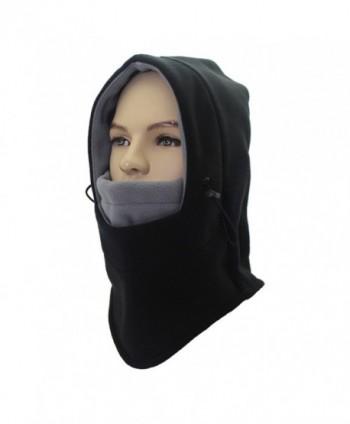 UNIQME Winter Balaclava Fleece Windproof - Black&grey - CV18855U6GG