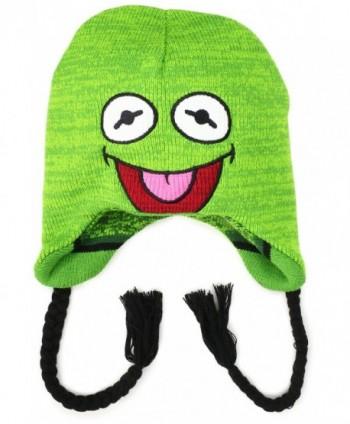 Disney Men's Muppets Kermit Reversible Stripe Peruvian - Green - CF11E9TTGCX