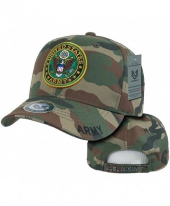Army Veteran Hat Camouflage Baseball Cap Woodland Camo US Military Seal - CV120PO9B4X