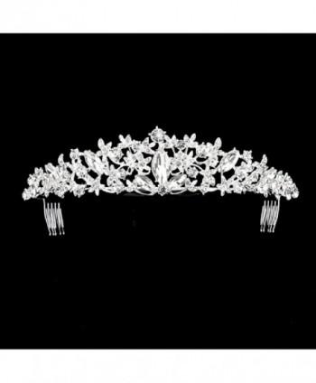 Rosemarie Collections Wedding Headpiece Rhinestone