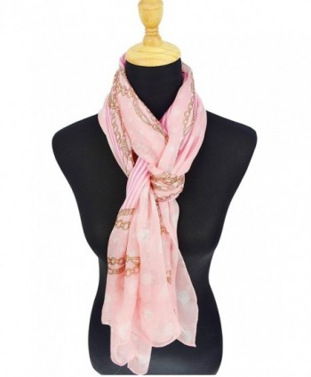 ELEGNA Mulberry Womens Printed Scarf