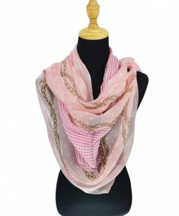 ELEGNA Mulberry Womens Printed Scarf in Wraps & Pashminas