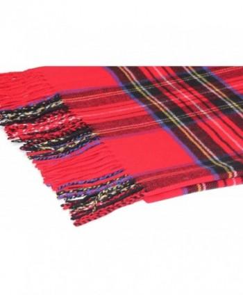 Oversized Scottish Tartan Cashmere Winter