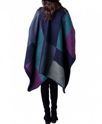 UTOVME Fashion Cashmere Cardigan Blanket in Cold Weather Scarves & Wraps