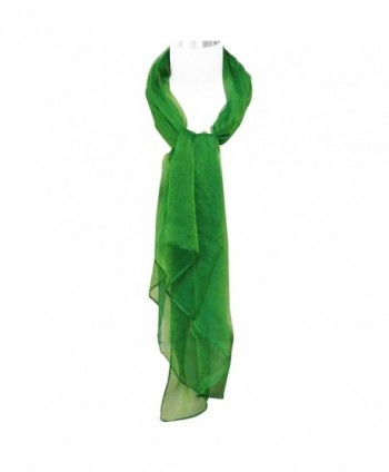 Allydrew Solid Color Scarf Green in Fashion Scarves