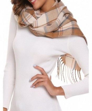 Womens Aztec Knit Scarf Slots in Cold Weather Scarves & Wraps