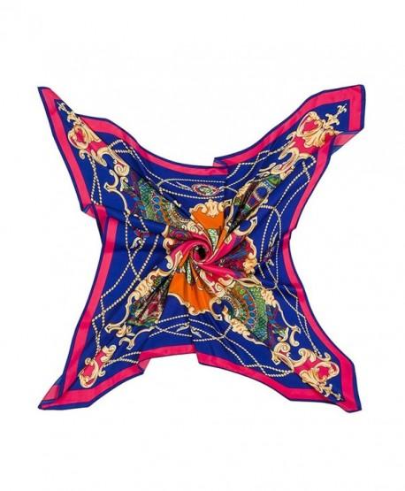 Promini Fashion Pattern Neckerchief Headdress - Pattern-rose - CF186399R7U