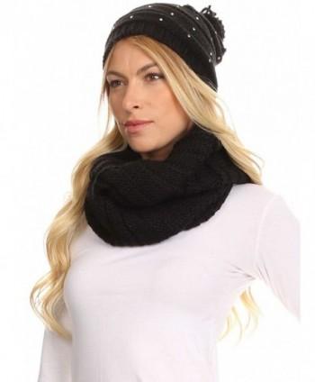 Sakkas 16141 Sayla Rhinestone Beanie in Cold Weather Scarves & Wraps