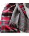 Womens Retro Tartan Blanket Winter