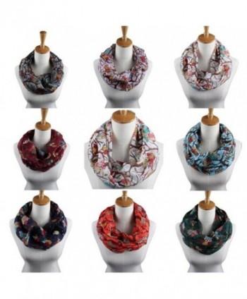 Elegant Scarves WuyiMC Ladies Pattern