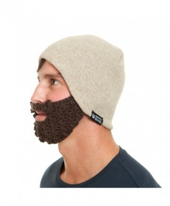 The Original Beard Beanie Eco2 Linen in Men's Skullies & Beanies