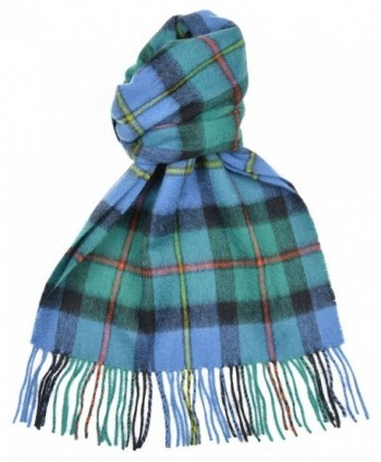 Lambswool Scottish Clan Scarf Macleod Of Harris Ancient Tartan - C6118SCFMZ7