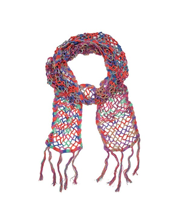 "Fair Trade ""Kriti "" Scarf - Festival of Colors - C912BJRKD8D"
