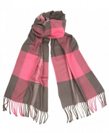 Love Lakeside Womens Cashmere Winter Plaid