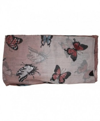 Ted Jack Exotic Ombre Butterflies in Fashion Scarves