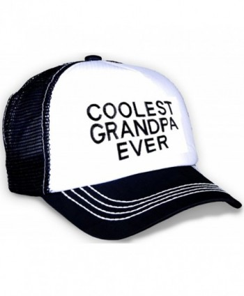 Triple9 Father's Day Baseball Cap Gift Present-Best Present Idea For Gifts - Coolest Grandpa Ever - C311Y5VZN13