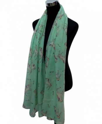 Lina Lily Unicorn Womens Lightweight in Fashion Scarves