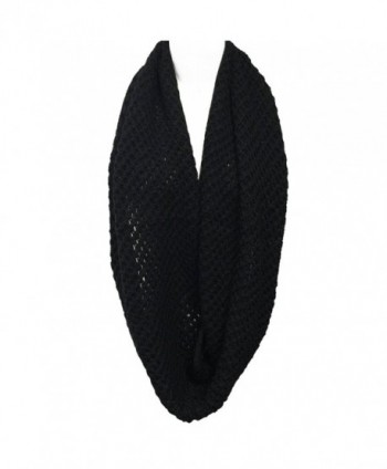 Wrapables Soft Infinity Scarf Black