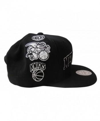 best sneakers 67d65 4ad51 Mitchell   Ness Men s New York Knicks Team Logo History Adjustable Snapback  Hat - Black -  Mitchell Ness History Adjustable Snapback ...