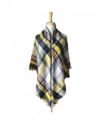 Synthiiz Tartan Blanket Scarves Fashion