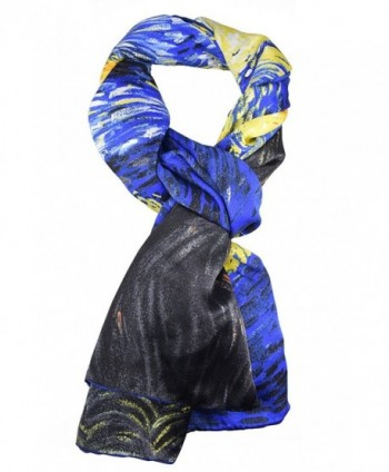 Elegna Luxurious Famous Painted Scarves