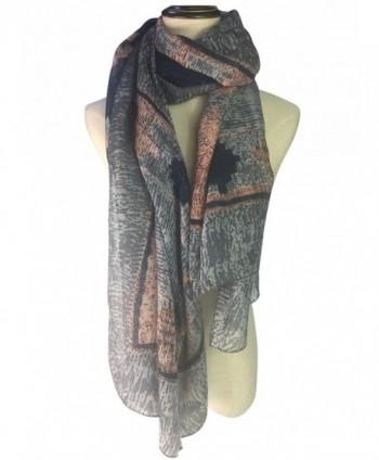 YOUR SMILE Large Tartan Fashion Women Warm Blanket Scarf Lovely Wrap Shawl - Gray - CW186I9582R