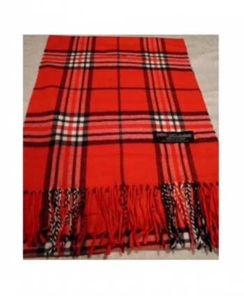 Red_(US Seller)Scarf Check Plaid Scotland Winter Cute Women Men - A92 - CU12CNSVE3Z