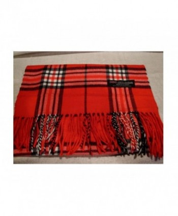 Seller Scarf Check Scotland Winter