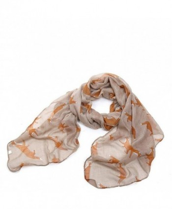 Lightweight Shawls Printed Chiffon Scarves in Wraps & Pashminas