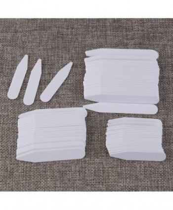Tinksky 200pcs Plastic Collar Stiffeners in Fashion Scarves