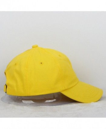 Cotton Baseball Adjustable Profile Unconstructed in Men's Baseball Caps