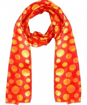 Polka dot scarf Chiffon Fashion