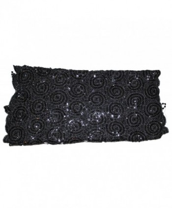 Ted Jack Bedazzled Sequin Sparkle in Fashion Scarves